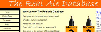 The Real Ale Database